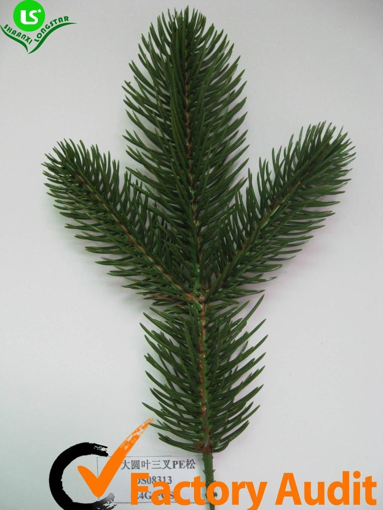artifical pe christmas tree branch with eco friendly 1