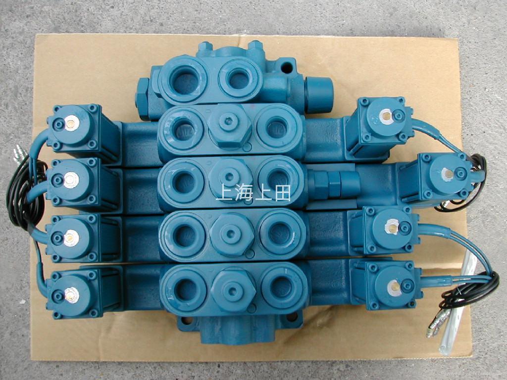 爱知高空作业车液压阀4DP04T1P678-0 1