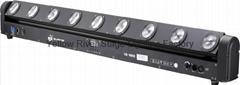 9 eyes 10w RGBW 4IN1 LED moving head Beam bar light