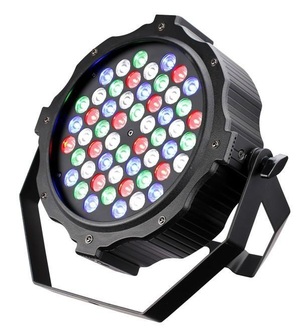 Slim Led Par Light 3w 54pcs Rgbw