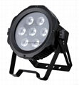 10WX7pcs  RGBWAUV 6IN1 OUTDOOR LED PAR