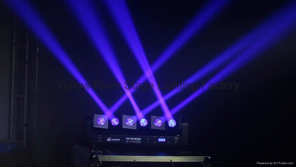 波浪形LED光束燈 3