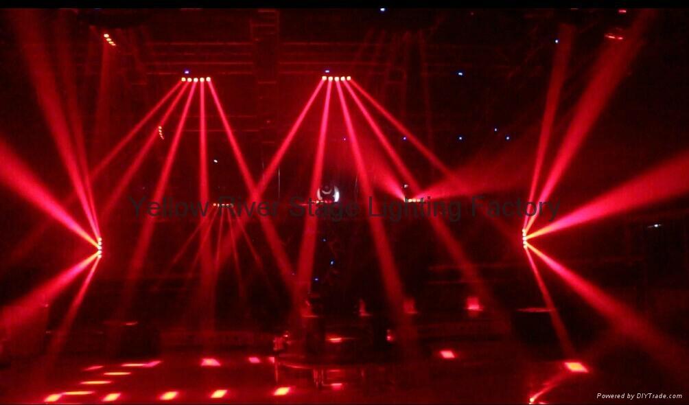 5 eyes arc moving head  led beam light  4