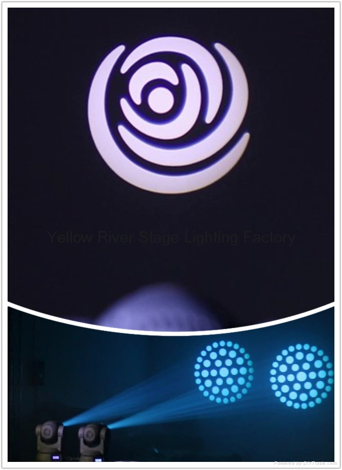 COMPACT 40W LED MOVING SPOT 10