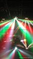 5眼弧形光束燈