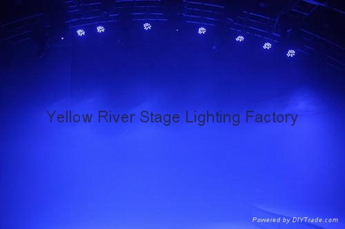 Slim led par 10W 18PCS RGBWAUV LED par light  2