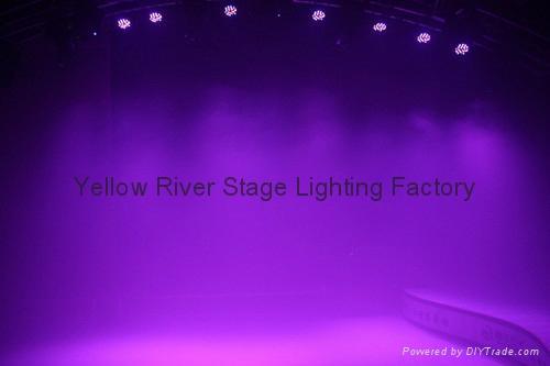 Slim led par 10W 18PCS RGBWAUV LED par light  4