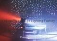 Bi-directional free rotation led moving beam light