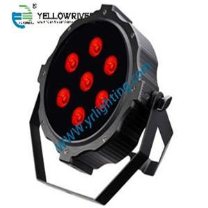 SLIM LED PAR  10w 7pcs RGBWAUV light