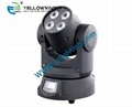 10w RGBWAUV  6in1 led moving head wash light