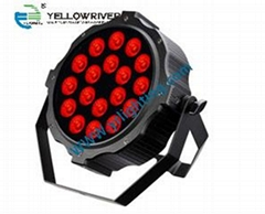 Slim led par 10W 18PCS RGBWAUV LED par light