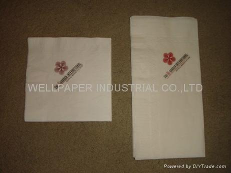 Dinner Napkin paper napkin white napkin 3