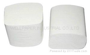 Bulk Pack Toilet Tissue/Interleaved Toilet Tissue/facial paper 1