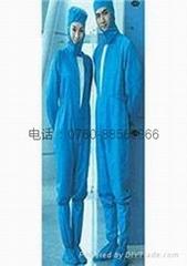服裝廠家訂做特種服裝電子車間防塵防靜電服