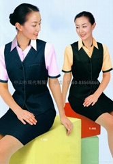 Female professional coverall