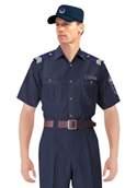 提供訂製車間上衣/套裝男女夏季短袖工廠服汽修服工程服工作工衣