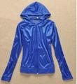 服装工厂订做夏季防晒服装 女士防晒外套 外出防晒荧光布防护衣服 2