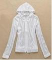 服装工厂订做夏季防晒服装 女士防晒外套 外出防晒荧光布防护衣服 5