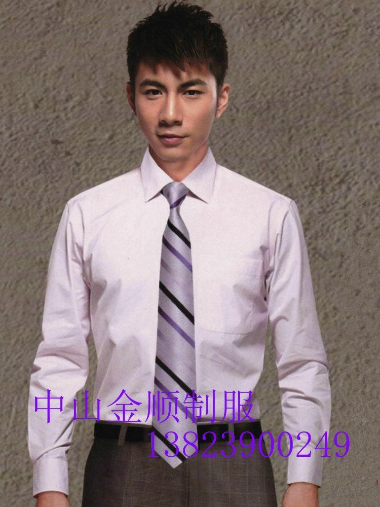 中山服装厂办公室制服衬衣 男女服装 办公室工作衬衫  工作衬衣服 1