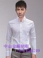 Zhongshan garment factory,men's and women's clothing, office work shirt 2