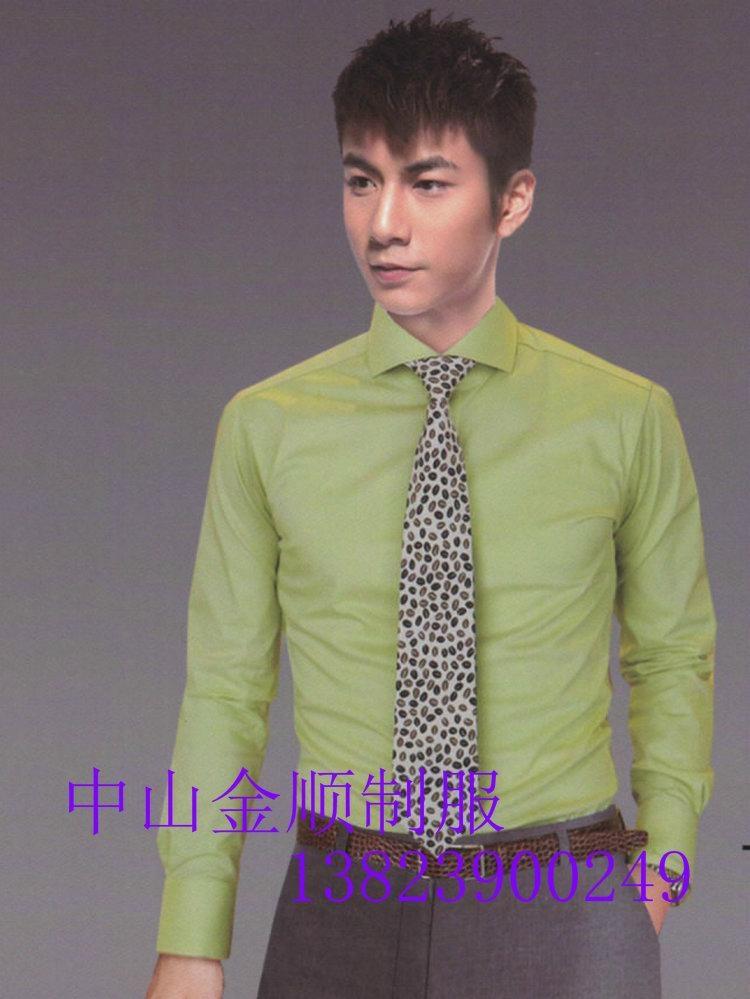Zhongshan garment factory,men's and women's clothing, office work shirt 4
