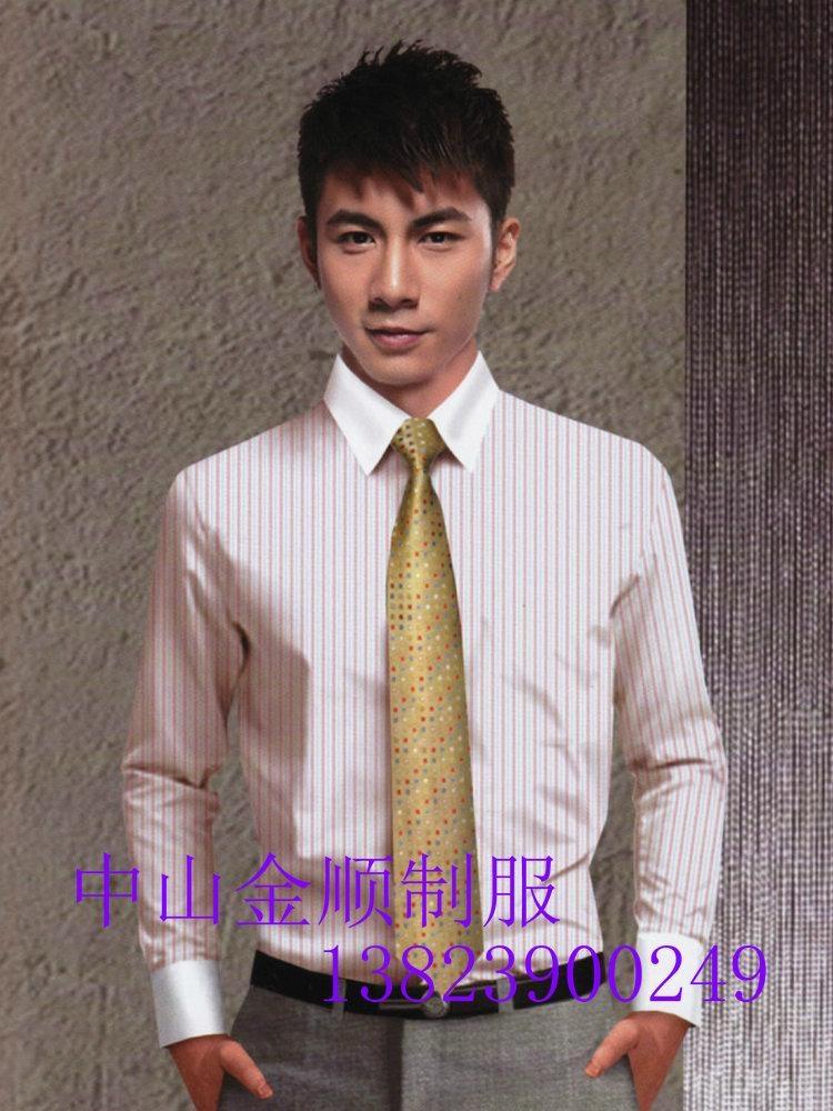 中山服装厂办公室制服衬衣 男女服装 办公室工作衬衫  工作衬衣服 5