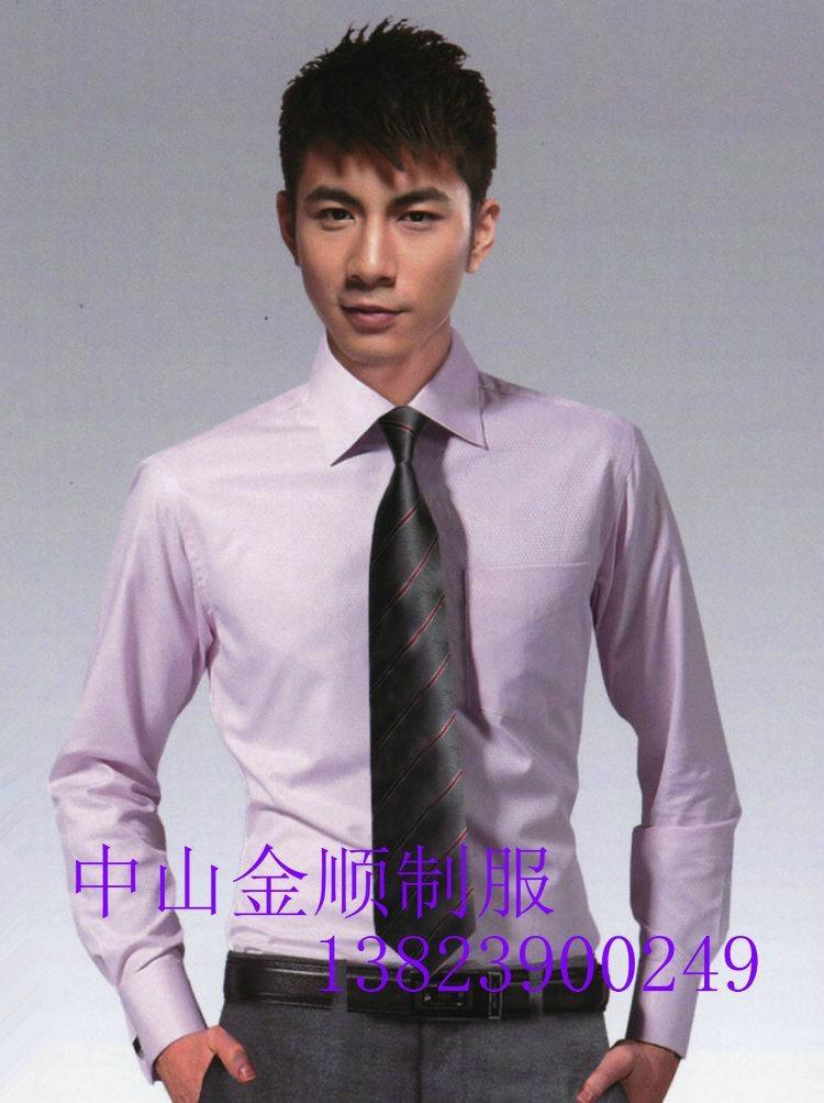 中山定做工作服 中山工衣 办公室行政衬衫订做 高级职员制服 3