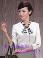 品牌女式衬衫职业套装行政制服订做 职业装衬衫 4