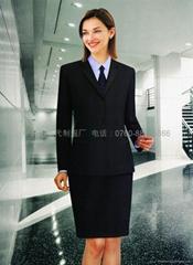 通勤OL女式部门经理行政部女西装量身定制贴身西服