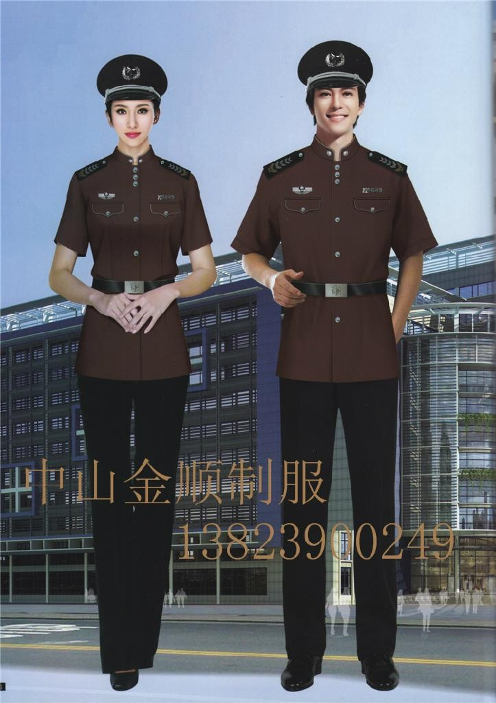 酒店制服 保安部门工作服装 安保执勤服 7