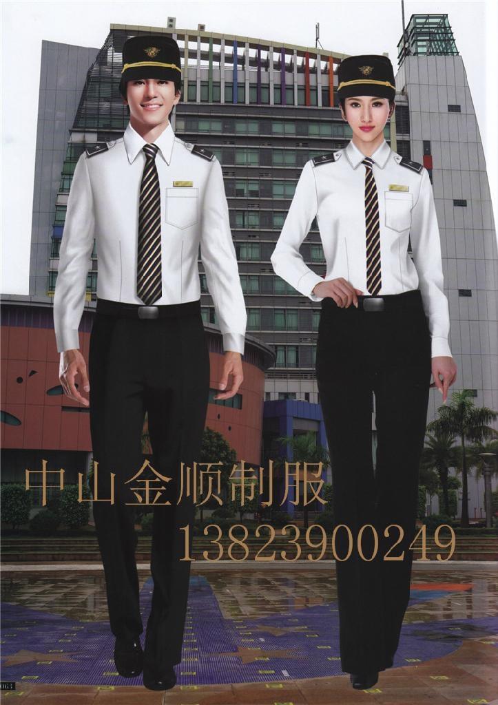 酒店制服 保安部门工作服装 安保执勤服 8