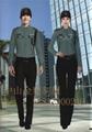 酒店制服 保安部门工作服装 安保执勤服 10