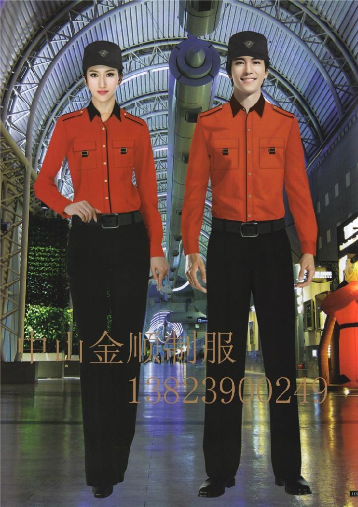 酒店制服 保安部门工作服装 安保执勤服 11