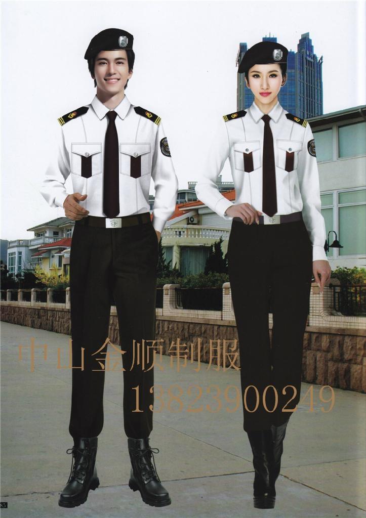 酒店制服 保安部门工作服装 安保执勤服 14
