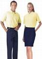提供订制车间上衣/套装男女夏季短袖工厂服汽修服工程服工作工衣 4