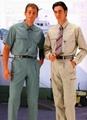 中山服装厂家专业订制车间工厂防护工作服统一形象工衣整体性套装 5