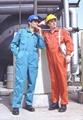 定制夏季薄款连体工作服长短袖套装 劳保工程服 工程工装连体服 5