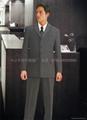 供应量身订做行政部男西装政府高层服装企业形象制服 5
