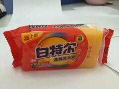 laundry soap, transparent soap