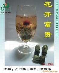 花开富贵(工艺茶、茶叶)