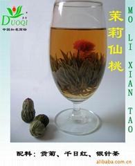 茉莉仙桃(工艺茶、茶叶)