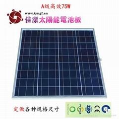 75-80W太阳能电池组件