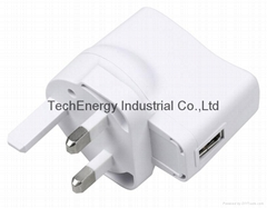 5W BS USB Universal AC/DC Adapter
