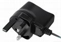 5W 5V 1A Black BS Plug Universal AC/DC