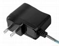 8W Black UL Plug AC/DC Adapter