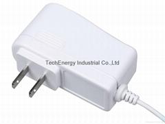 9W White UL Universal AC DC Adapter
