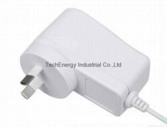 9W white SAA universal power adapter