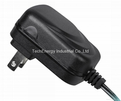 12W universal AC/DC power adapter with more smaller size and higher efficiency