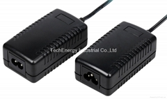 36W series desktop AC/DC power adapter with multiple shapes (Hot Product - 3*)