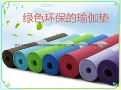廠家直銷環保無味TPE瑜伽墊子183*61*6mm加寬加厚瑜伽墊